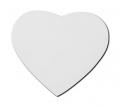 Подложка за мишка - сърцевидна, за сублимационен печат